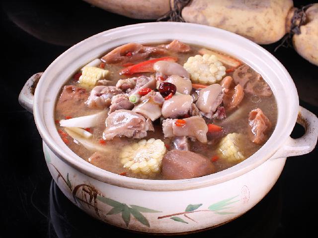 周莲藕养生汤