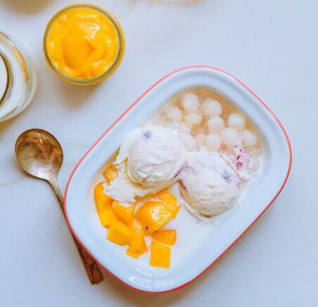鲜芋仙甜品