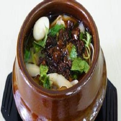 秦朝瓦罐面